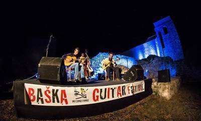 Baška International Guitar Festival op eiland Krk